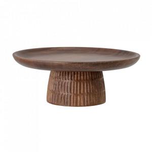 Platou maro din lemn de salcam 30 cm Loisa Bloomingville