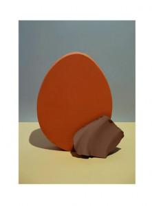 Poster multicolor din hartie 50x70 cm Nexus Avi Red Orange Ferm Living