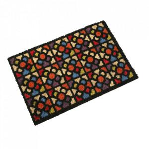 Pres pentru intrare multicolor din fibre de cocos 40x60 cm Urbana Versa Home