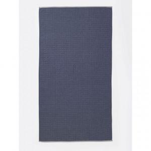 Prosop din bumbac albastru 100x180 cm Sento Ferm Living