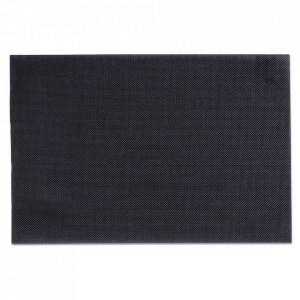 Protectie masa dreptunghiulara neagra din PVC 30x45 cm Bia Zeller