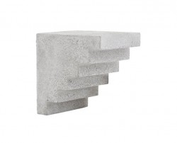 Raft gri din ciment 15 cm Stairs House Doctor