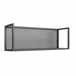Raft negru din metal 50 cm Motif LABEL51