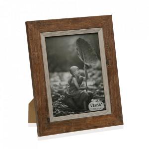 Rama foto maro din lemn 22x27 cm Simona Versa Home