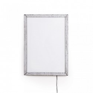 Rama poster din aluminiu cu LED 40x55 cm Frame it Medium Seletti