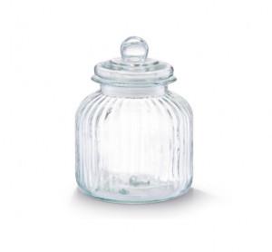 Recipient cu capac transparent din sticla 2,8 L Nostalgia Big Zeller