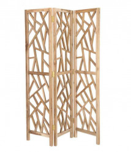 Separator camera maro din lemn de tec 180 cm Austy La Forma