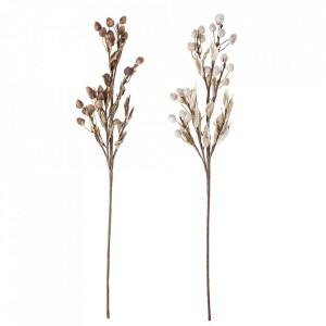Set 2 flori artificiale multicolore din hartie si fier 80 cm Nature Bloomingville