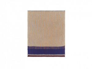 Set 2 prosoape dreptunghiulare multicolore pentru bucatarie din bumbac 26x32 cm Akin Honey Gold Ferm Living