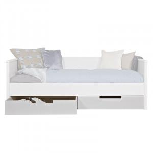 Set 2 sertare pentru cadru pat din lemn de pin Jade Woood