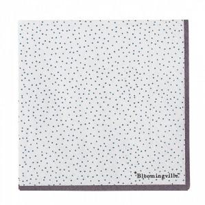 Set 20 servetele 25x25 cm Dots Bloomingville