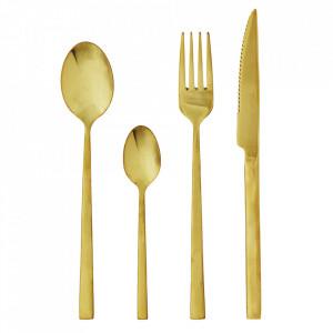Set 4 tacamuri aurii din inox Vatima Madam Stoltz