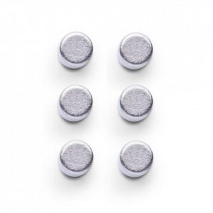 Set 6 magneti argintii Griffin Zeller