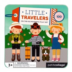 Set de joaca 24 piese Travel Characters Petit Collage
