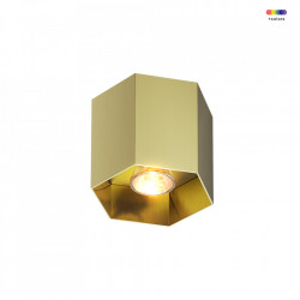 Spot auriu din aluminiu Polygon Gold CL Zuma Line