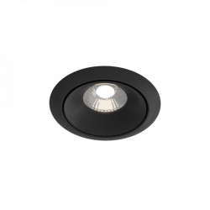 Spot negru din aluminiu cu LED Downlight Yin Round Maytoni