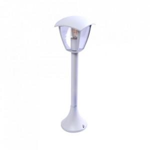 Stalp de iluminat exterior alb din aluminiu 63 cm Fox Aleas Milagro Lighting