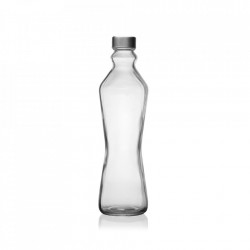 Sticla transparenta cu dop 500 ml Tony Versa Home