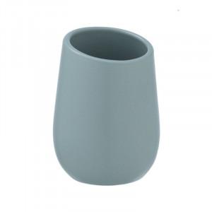 Suport albastru din ceramica pentru periuta dinti 8x11 cm Badi Wenko