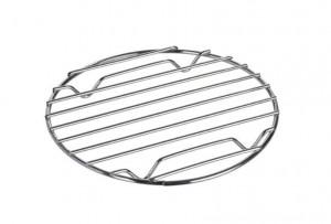 Suport argintiu din metal pentru vase fierbinti Cali Round Wenko