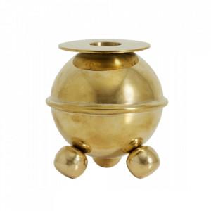 Suport auriu din alama pentru lumanare 8,9 cm Koster Nordal