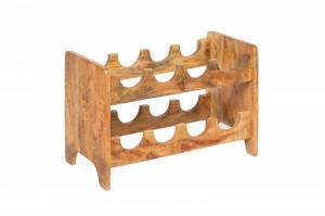Suport maro din lemn pentru sticle Bodega Invicta Interior