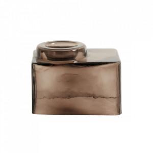 Suport maro din sticla pentru lumanare 7 cm Alec Nordal