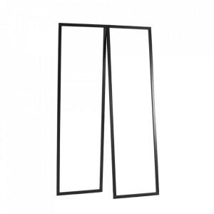 Suport umerase negru din metal 173 cm Sabu Custom Form