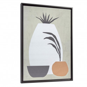 Tablou multicolor din canvas si MDF 50x70 cm Bianey Grey Kave Home