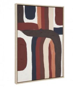 Tablou multicolor din lemn 60x90 cm Djarra La Forma