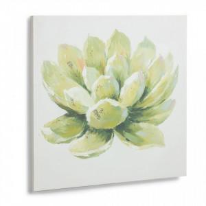 Tablou verde printat 50x50 cm Damien Kave Home