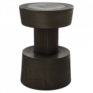 Taburet rotund maro din aluminiu 35 cm Bolt Pols Potten