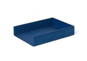 Tava albastra din placaj pentru scrisori Letter Ferm Living