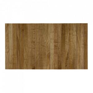 Tava maro din lemn de stejar pentru cotiera canapea 36x45 cm Flexible Woood