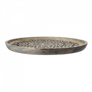 Tava rotunda maro din lemn de mango 39 cm Nature Bloomingville