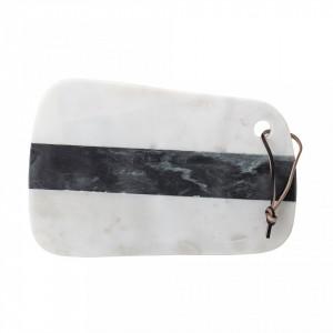 Tocator alb din marmura 31x20 cm Bloomingville
