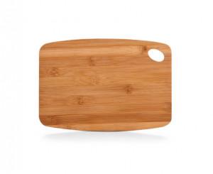 Tocator dreptunghiular maro din lemn 18,5x26,5 cm Finger Hole Zeller