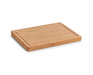 Tocator dreptunghiular maro din lemn 35x46 cm Arranging Food Zeller
