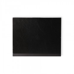Tocator dreptunghiular negru din marmura 40x50 cm Cutting Board Polished HK Living
