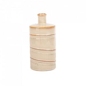 Vaza alba/crem din ceramica 23 cm Samuel Lifestyle Home Collection