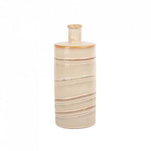 Vaza alba/crem din ceramica 30 cm Samuel Lifestyle Home Collection