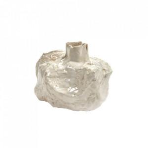 Vaza alba din ceramica 14 cm Moonstone Serax