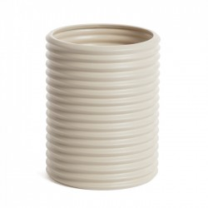 Vaza alba din ceramica 25 cm Aleray La Forma