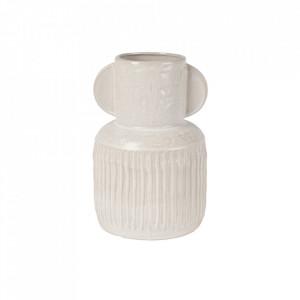 Vaza alba din ceramica 31 cm Jacob Lifestyle Home Collection