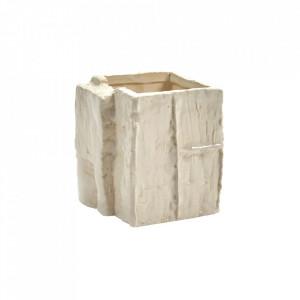 Vaza alba/gri din ceramica 11 cm Love for Nature Open Serax