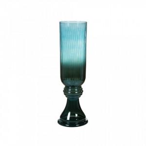 Vaza albastra din sticla 52 cm Crystal Blue Santiago Pons