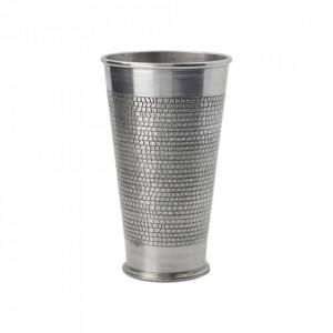 Vaza argintie din aluminiu 15 cm Arti House Doctor