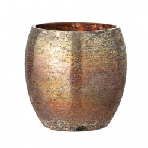 Vaza aurie din sticla 10 cm Votive Bloomingville