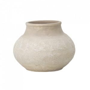 Vaza decorativa maro din teracota 38 cm Athena Creative Collection
