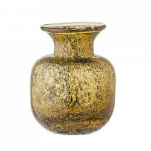 Vaza din sticla maro 15 cm Vintage Bloomingville